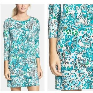 NEW Lilly Pulitzer Animal Print Mini Dress Sz M